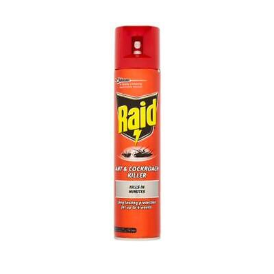 RAID Ant & Cockroach Insecticide Aerosol 300ml Ref 97734 - 97734