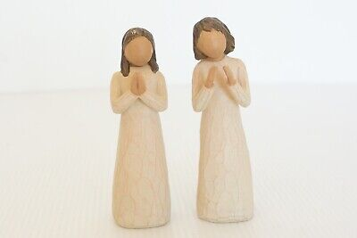 Willow Tree Sisters by Heart x 2 Figurine by Susan Lordi Free Post