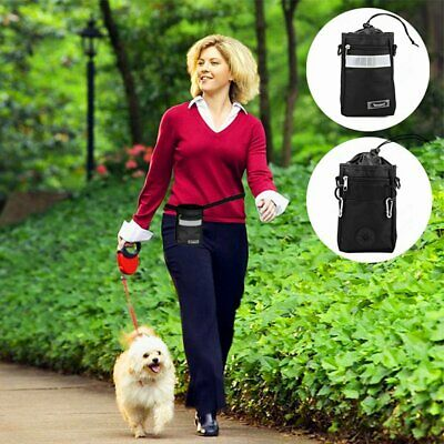 Dog Pet Treat Pouch Outdoor Training Waist Pouch Puppy Bait Treat Snack Food Bag