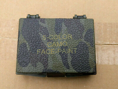 ~Camoflauge Camo Face Paint 5 Multi Color Army Military Hunting Rothco 8205
