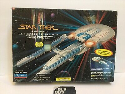 Star Trek The Movie Collection VERY RARE U.S.S. Excelsior Class Starship NCC-