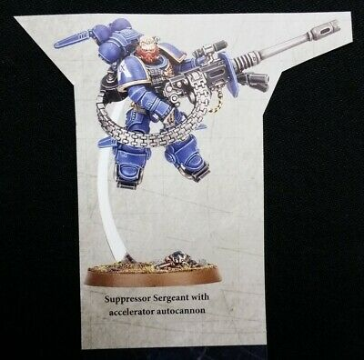 1 Suppressor Sergeant Shadowspear Vanguard Space Marines Warhammer 40K Primaris