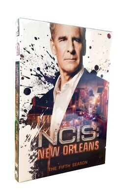 NCIS New Orleans Season 5 DVD Complete 5th Series New & Sealed UK Compatible