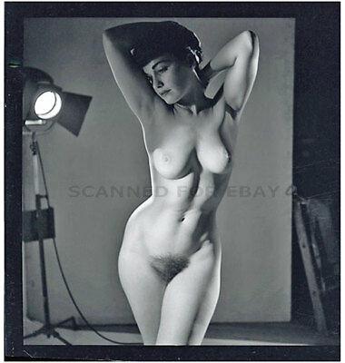 Pinup nude Betty Page model female fine art photograph woman girl print Bettie-z
