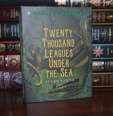 Twenty Thousand Leagues Under the Sea by Jules Verne New Hardcover Deluxe Gift