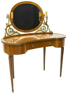 Table, Dressing, Continental, Louis XVI Style/ Vanity Mirror, Vintage/Antique !!
