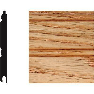 House of Fara Solid Red Oak Tongue and Groove Wainscot