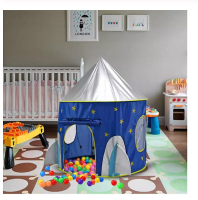 Portable Play House Tent Toys Foldable Space Ship Playtents Outdoor Children Toy