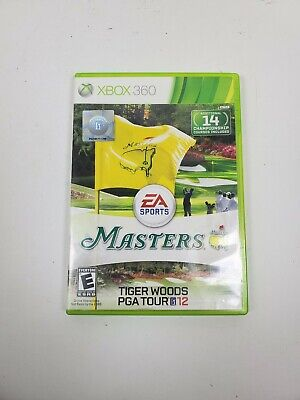 Tiger Woods PGA Tour 12 The Masters Microsoft Xbox 360 2011