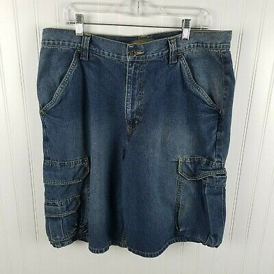 Vintage Silvertab Levi Cargo Jean Shorts Size 36 *Excellent condition*