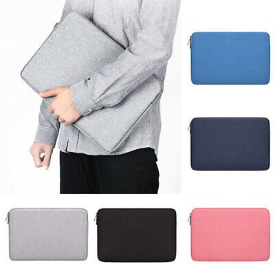 Shockproof Laptop Notebook Sleeve Case Bag Pouch Cover For MacBook Air/Pro Acc