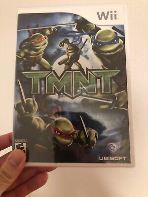 (TMNT)Teenage Mutant Ninja Turtles  Nintendo Wii Game 2007