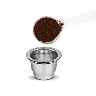 For Nespresso Reusable Stainless Steel Coffee Capsule Cup Refillable Pod 1pcs
