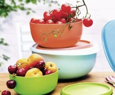 TUPPERWARE SET 3  CIOTOLE SIRIO  Coloratissime