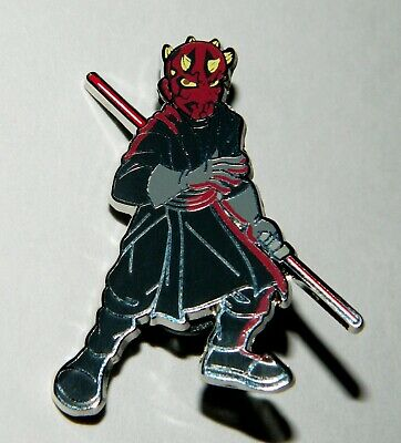 Star Wars Celebration Chicago 2019 Darth Maul Figure Exclusive Metal Enamel Pin