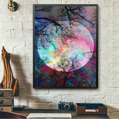 DIY Oil Painting Paint By Number Kit Home Wall Art Picture For Living Room