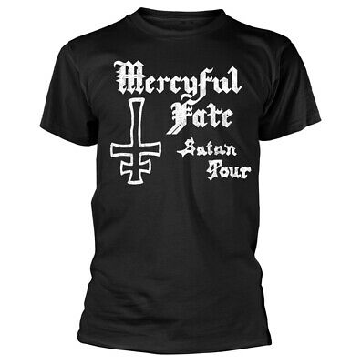 Mercyful Fate Satan Tour 1982 Shirt S-3XL Official Heavy Metal Band T-Shirt