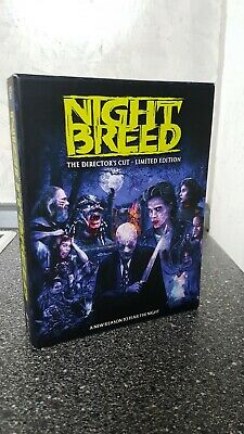Nightbreed BluRay/DVD Dual Box Scream Factory Clive Barker
