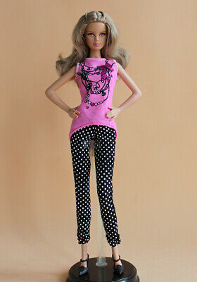 BARBIE Doll Summer Casual Outfit 2 pc set Clothes Fashion