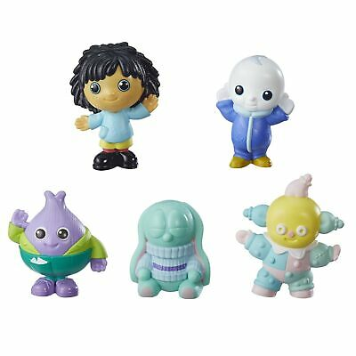 Moon & Me Playskool Moon and Me Friends Pack of 5 Figures New - Free Post!