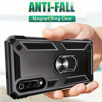 Military Armor Magnetic Ring Holder Case Cover for Samsung Galaxy Note 10 Plus