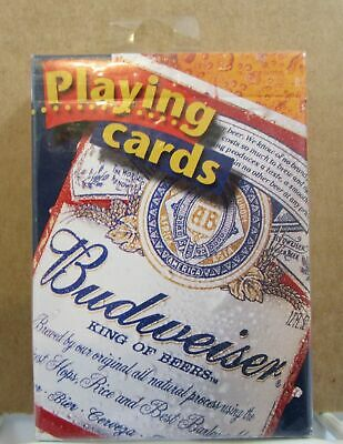 Vintage Budweiser King of Beers 2000 Anheuser-Busch Poker Playing Cards NIP USA