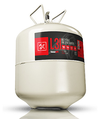 TensorGrip L31 Mist-Pebble Fine Spray Adhesive 22 or 110 Litre Canister