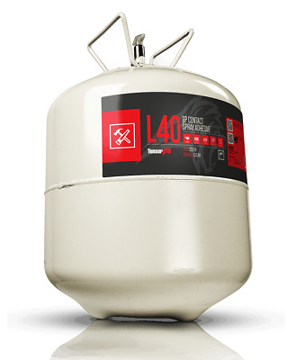 TensorGrip L40 GP Contact Web Spray Adhesive 22 or 110 Litre Canister