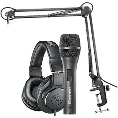 Audio-Technica AT2005USB Microphone Pack with ATH-M20x