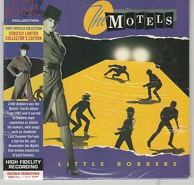 Little Robbers  The Motels (CD, Mar-2012, Culture Factory) Vinyl Replica Sealed