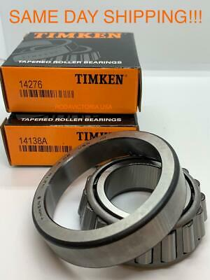 """TIMKEN 14276D TAPERED ROLLER BEARING DOUBLE CUP 14276 D  2.7170/""""OD 1.5/""""W USA"""