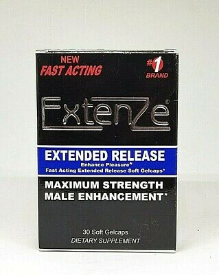 ExtenZe Extended Release Max Strength 30 Gelcaps | Various Exp: 2020+