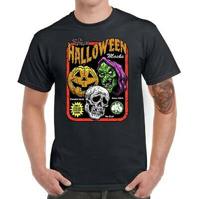 Halloween Season Of The Witch Men T-Shirts Funny Graphic Tee Cotton Short Sleeve