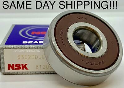 UP TO 50 NEW NSK DEEP GROOVE SEALED BEARINGS 15mm x 42mm x 13mm 6302V