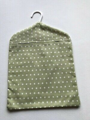 Retro Peg Bag Made With Twinkle Sage Fabric From Dunelm