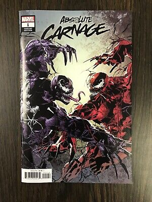 Absolute Carnage #1 (2019) Party Variant Mike Deodato Donny Cates Marvel Comics