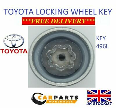 TPI Premium Locking Wheel Nuts 12x1.5 Bolts Tapered For Toyota C-HR 17-17