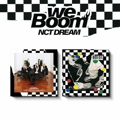"SJmusic [NCT DREAM] 3rd Mini Album ""We Boom""  KIHNO KIT+Book+Card+POSTER, SEALED"