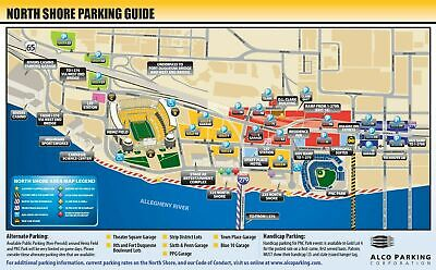 Pittsburgh Steelers Parking Pass - Oct. 6 Ravens