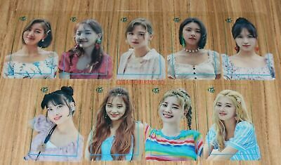 TWICE POPUP STORE Twaii's SHOP SEOUL OFFICIAL GOODS TRANSPARENT PHOTOCARD NEW