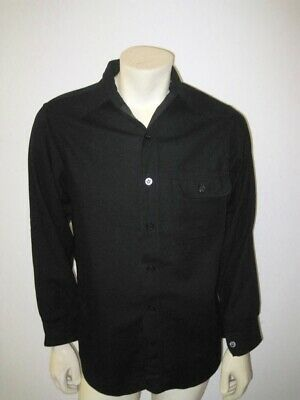 Vintage WWII US Navy Naval Clothing Factory Wool Single Pocket CPO Shirt
