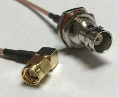 SMA Female to 3X SMA Male Splitter Combiner cable pigtail RG316 USA Assembled