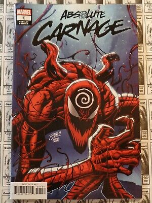 Absolute Carnage (2019) Marvel - #1, Ron Lim Variant, 60 Pgs, Cates/Stegman, NM