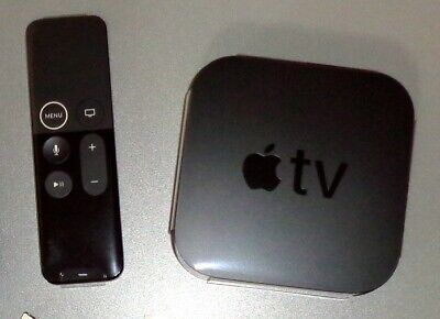APPLE TV 4K HD HDR Siri Bluetooth Wireless A10X Fusion Chip 64-bit-—Model A1842