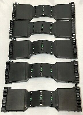 Lot Of 5 Haworth Power Base Electronic Bridge Connection Cubical Panel PBFX
