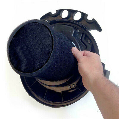Black Foam Filter Sleeve For  Genie And Shop-Vac Wet Dry Vacuum Cleaner Tools UK