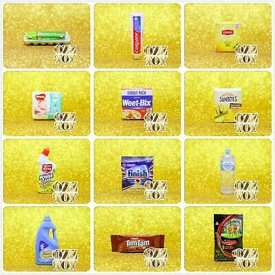 Coles Little Shop 2 & 1 Mini Collectables,individual or full set with case