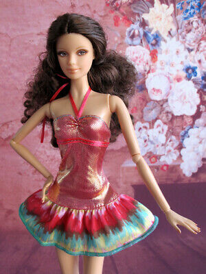 BARBIE Doll Holiday Summer Beach Dress Outfit Clothes Fashion