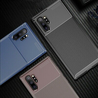 Shockproof Soft Rubber Edge Matte Case Cover For Samsung Galaxy Note 10 Plus S9+