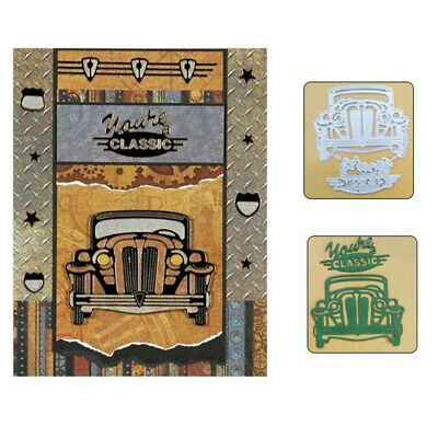 Classic Car Metal Cutting Dies Stencils for DIY Scrapbook Album Card Craft